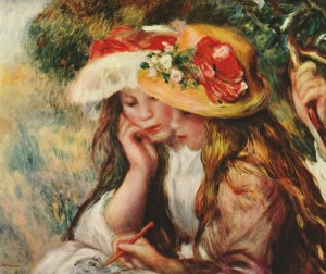 renoir-girls-drawing