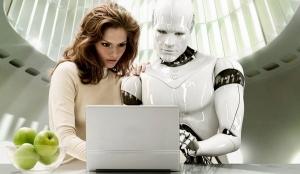 Human and Robot Sharing a Story