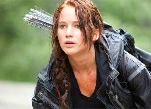 Katniss fights the system in Hunger Games