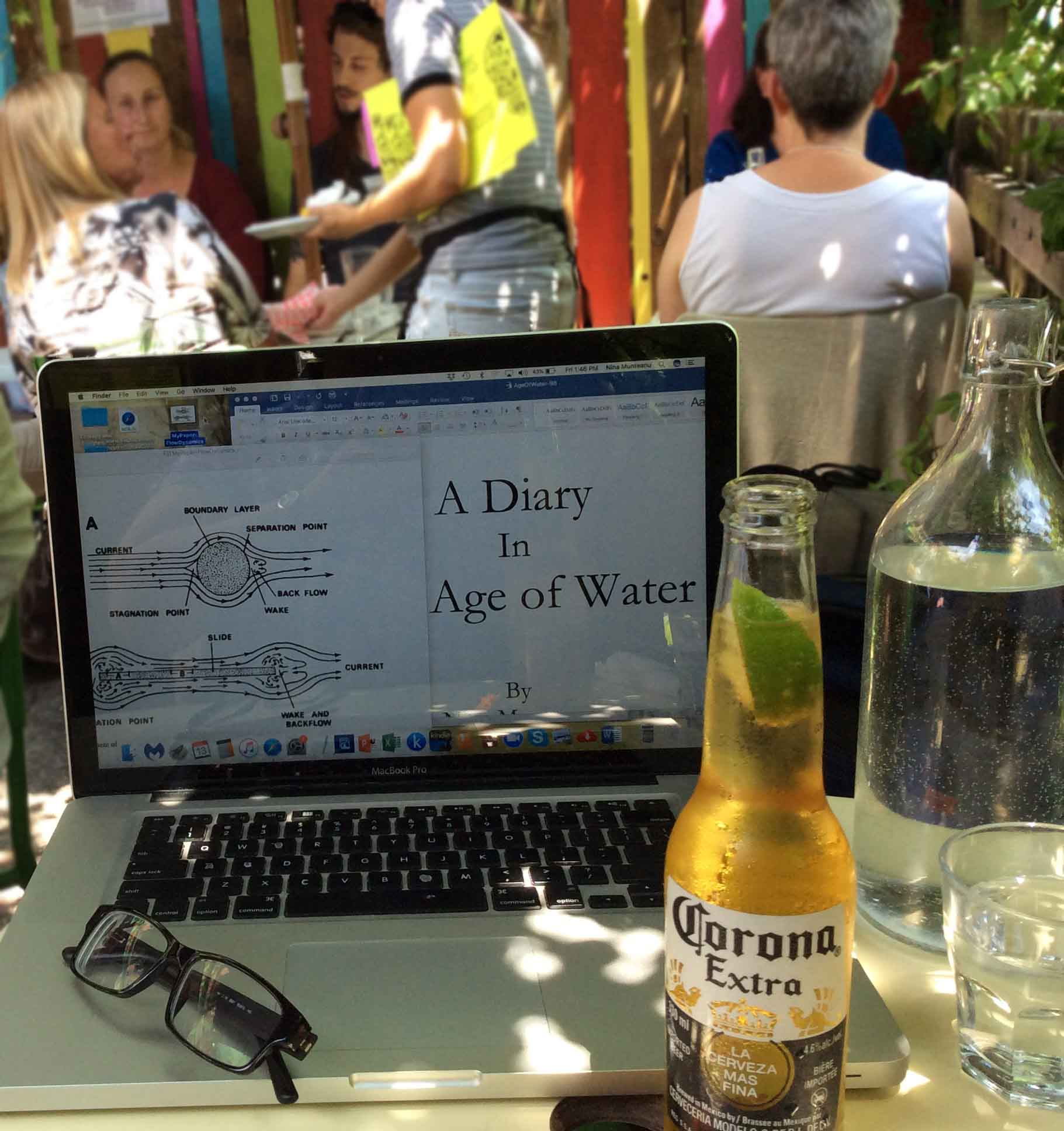 writing-Diary in Margaritas