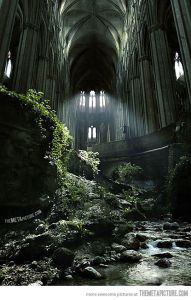St. Etienne abandoned church
