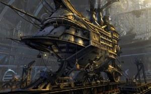Steampunk-vehicle