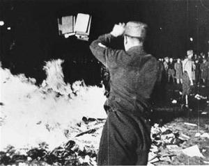 Book burning Opernplatz