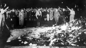 Book burning in Opernplatz