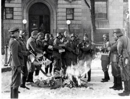 nazi book burning2