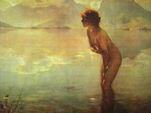 nude-in-water