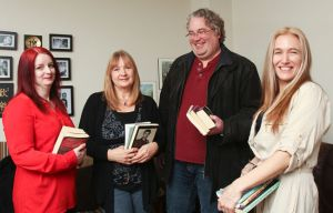 Liz Strange, Marlene Smith, Barry King, Delina MacDonald