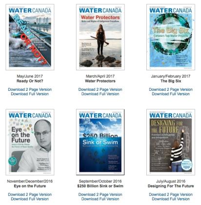 WaterCanada-covers