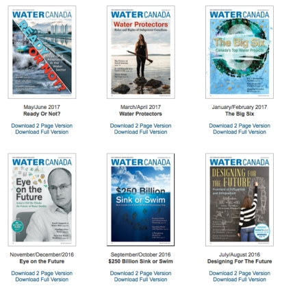 WaterCanada-covers