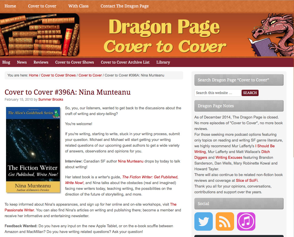 DragonPage-FictionWriter