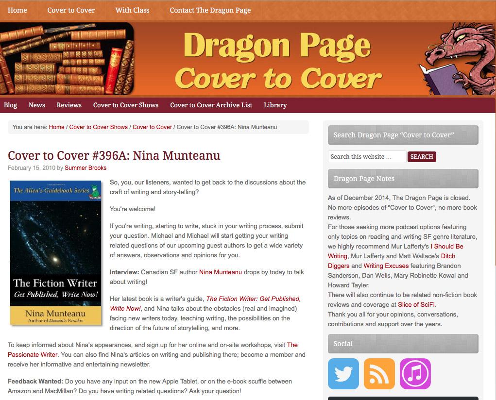 DragonPage-FictionWriter