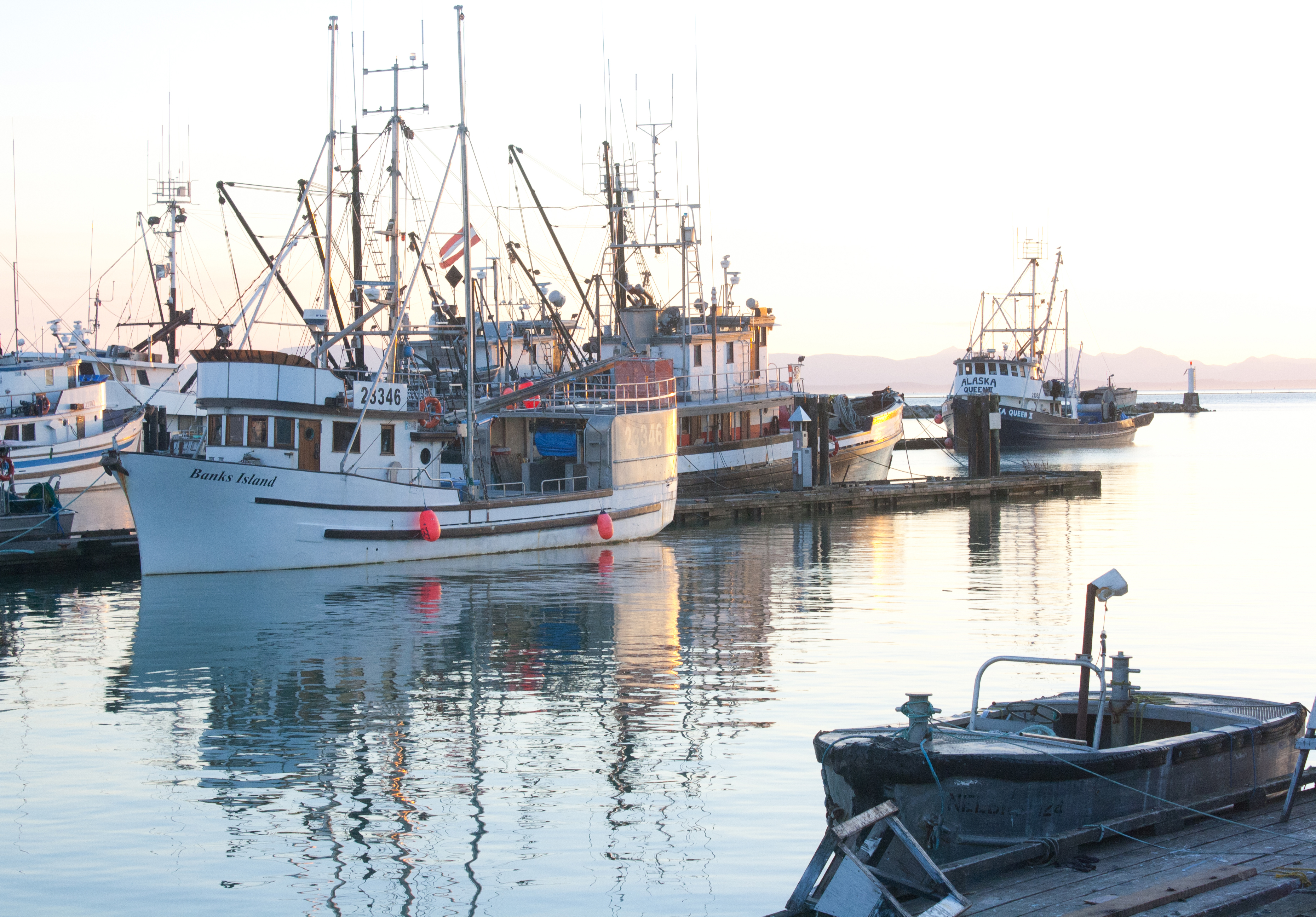 Steveston-boats