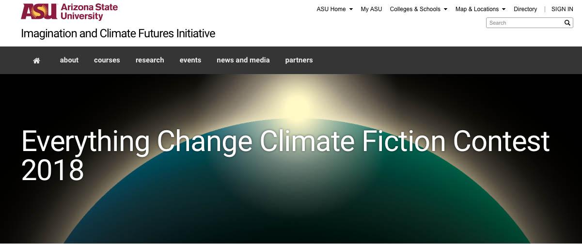 climate fiction contest