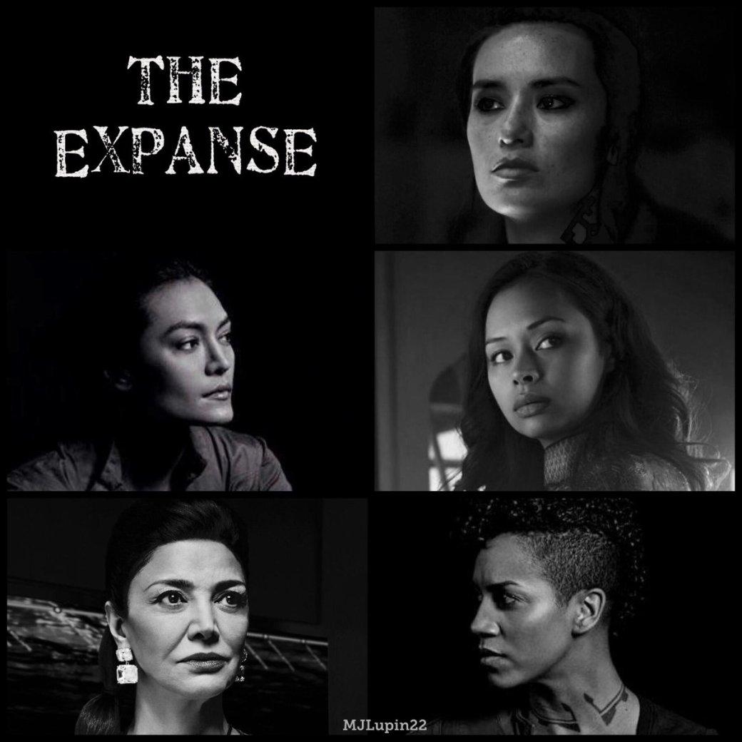 Expanse-5 Badass women