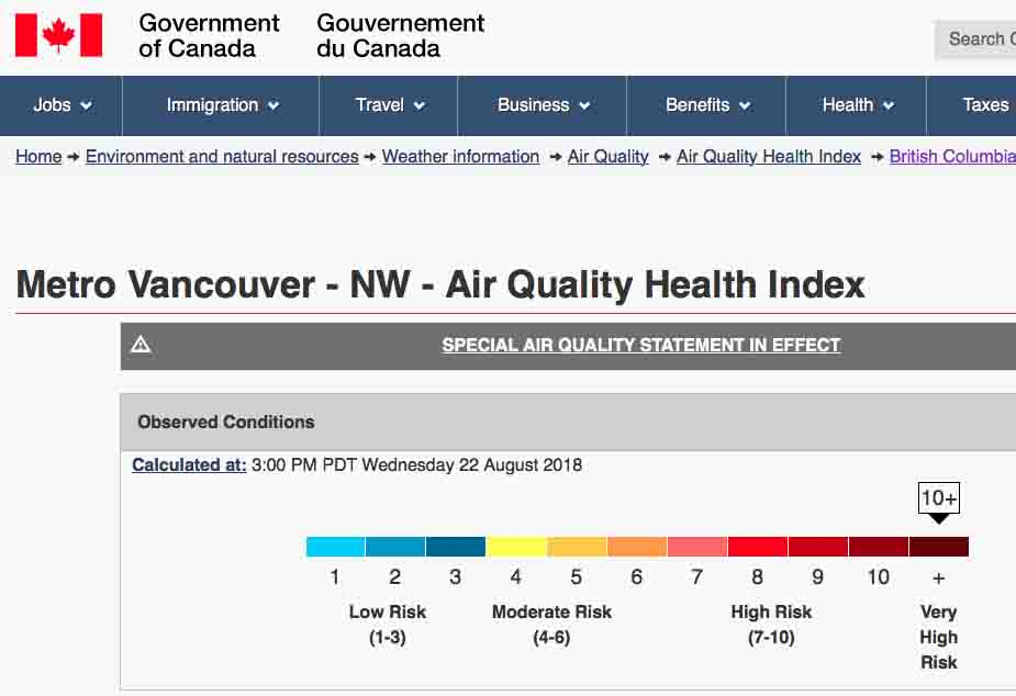 AQHI-MetroVancouver