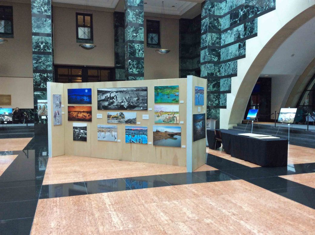 Morphology-Exhibit hall