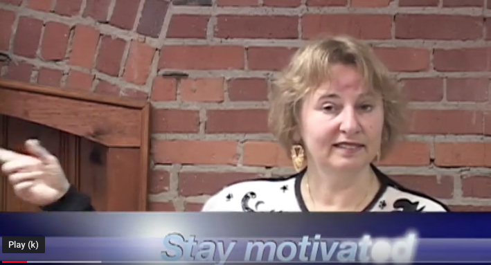 Nina-stay motivated