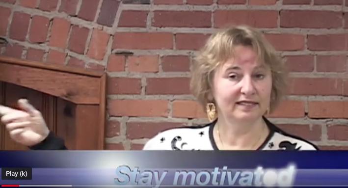 Nina-stay motivated