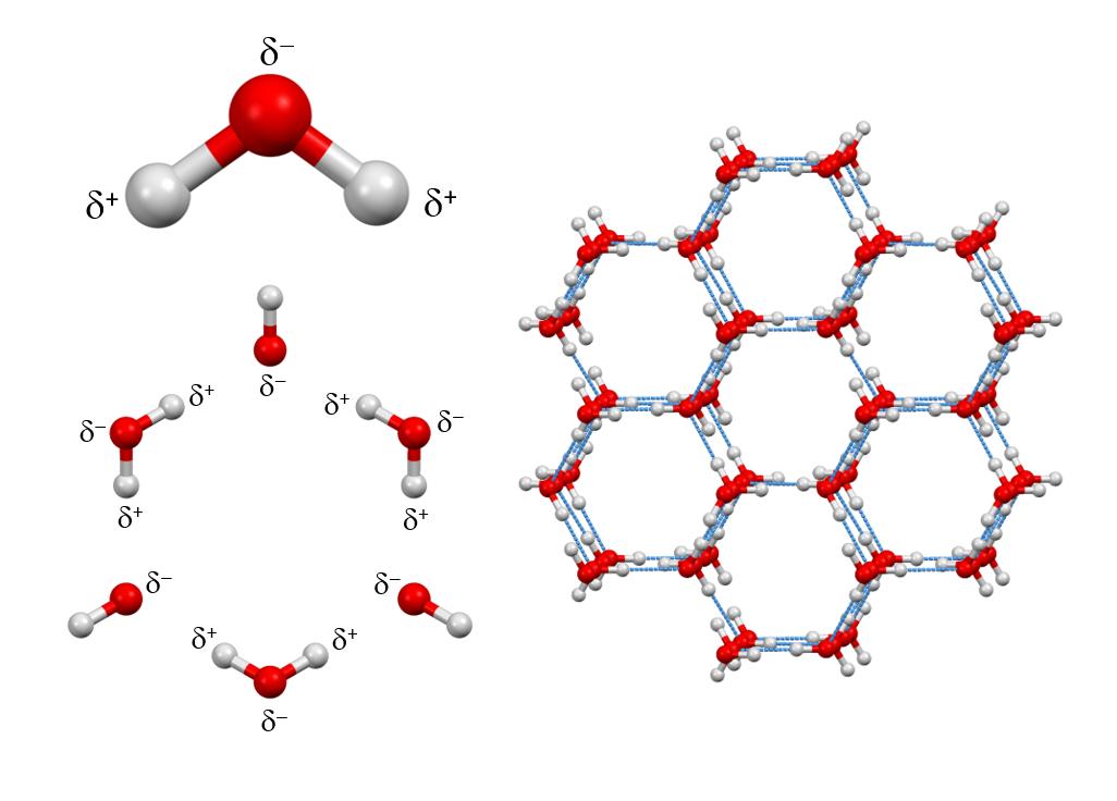 ice_ih_molecular_arrangement