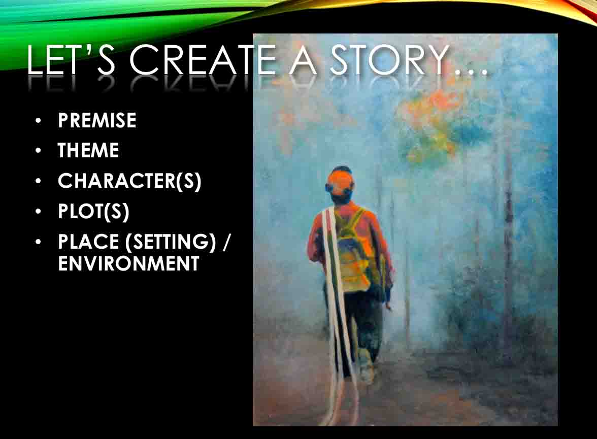 creating a story