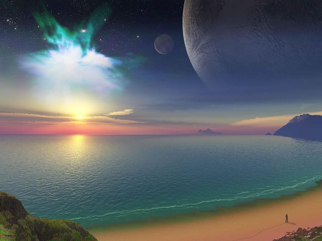 alien ocean sky