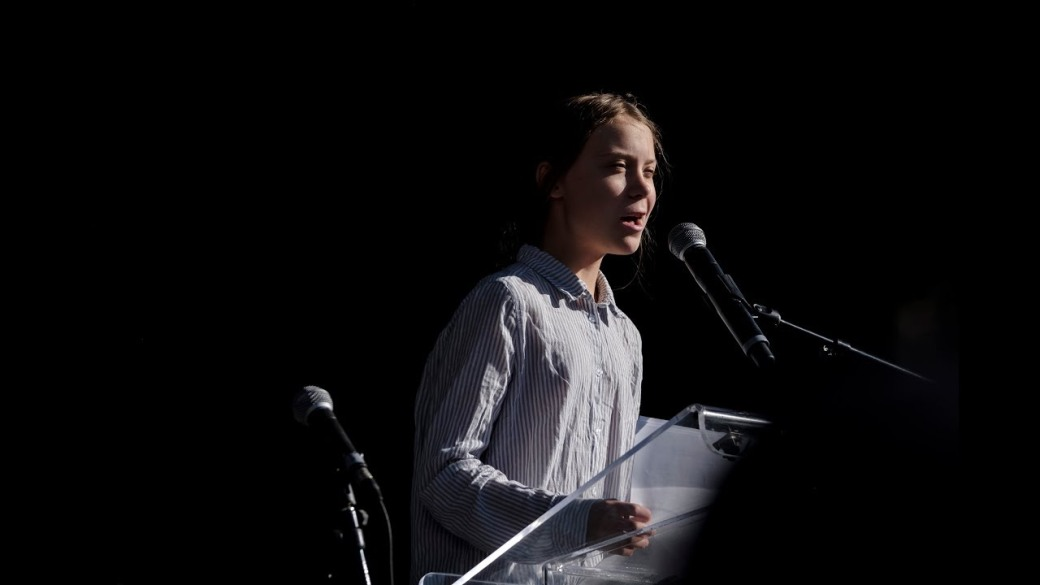 greta thunberg speech in montreal