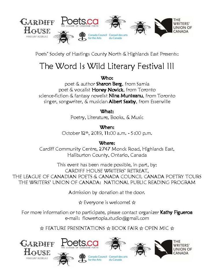 WriterFestival poster