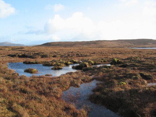 blanket bog-moorland