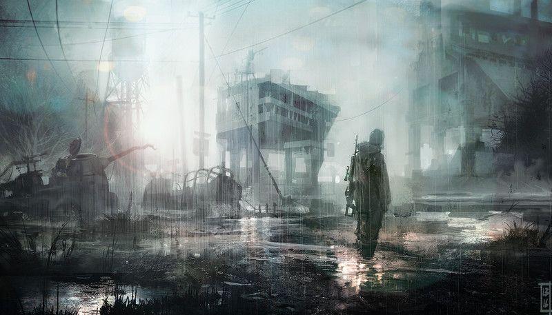 Mar Delena heavy rain by Luca Bottazzi