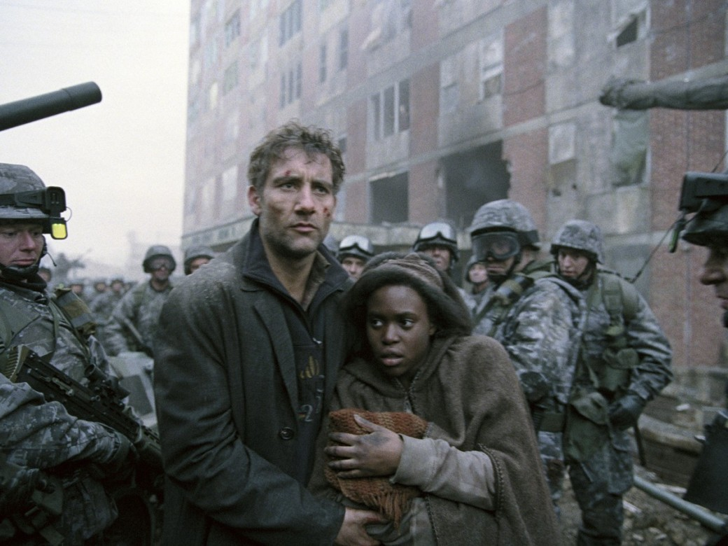 children of men scene