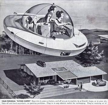 FlyingCar 1950s