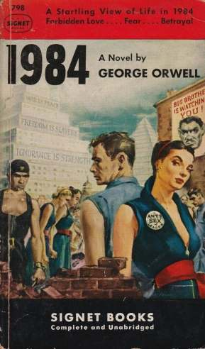 GeorgeOrwell 1984 signet