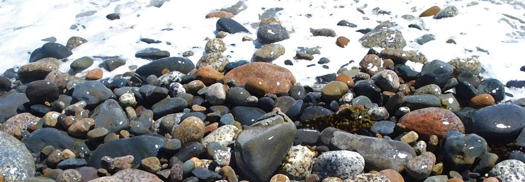 Beach stones foam HB-NS drybrush