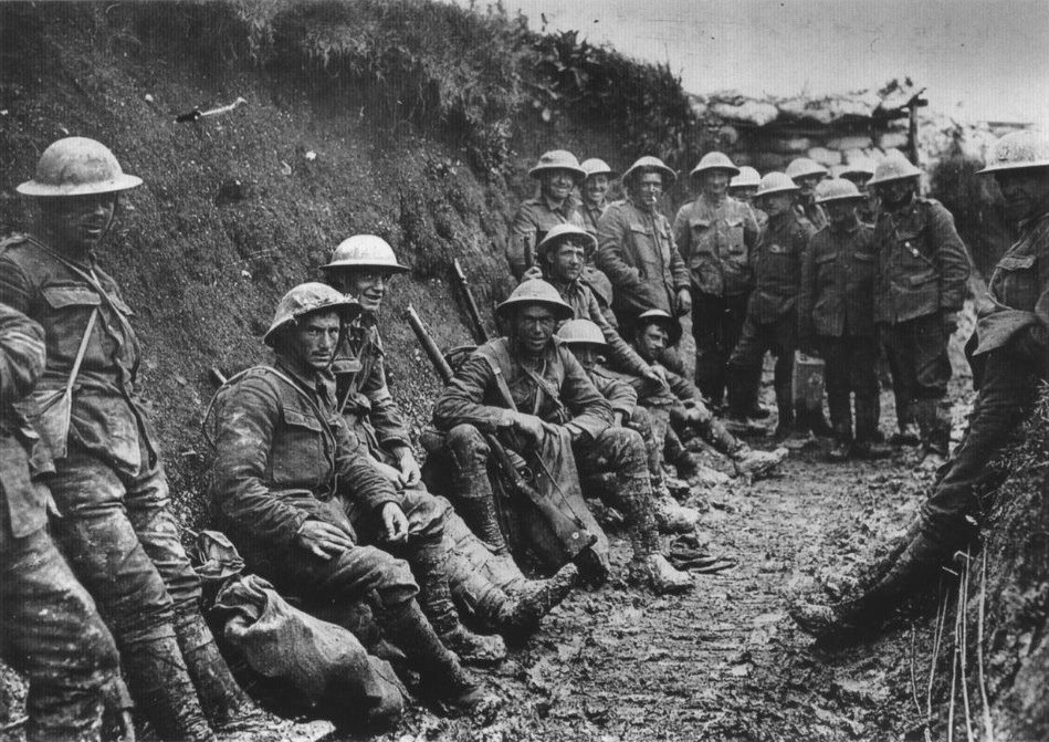 Royal_Irish_Rifles first day at Somme_July_1916